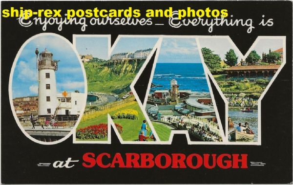 Scarborough, OKAY postcard
